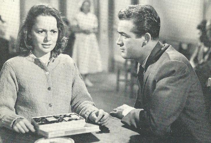 Olivia de Havilland és Mark Stevens (Kígyóverem, 1948)