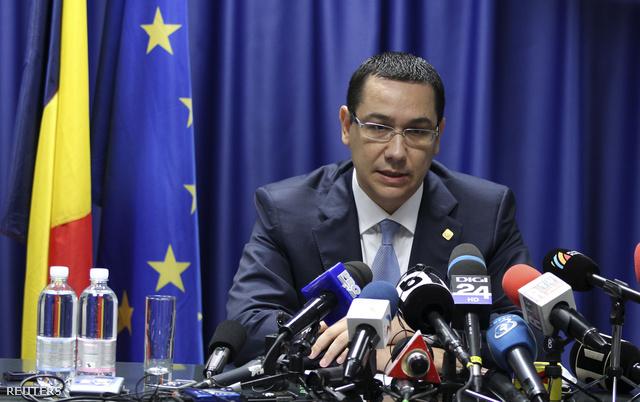Victor Ponta miniszterelnök