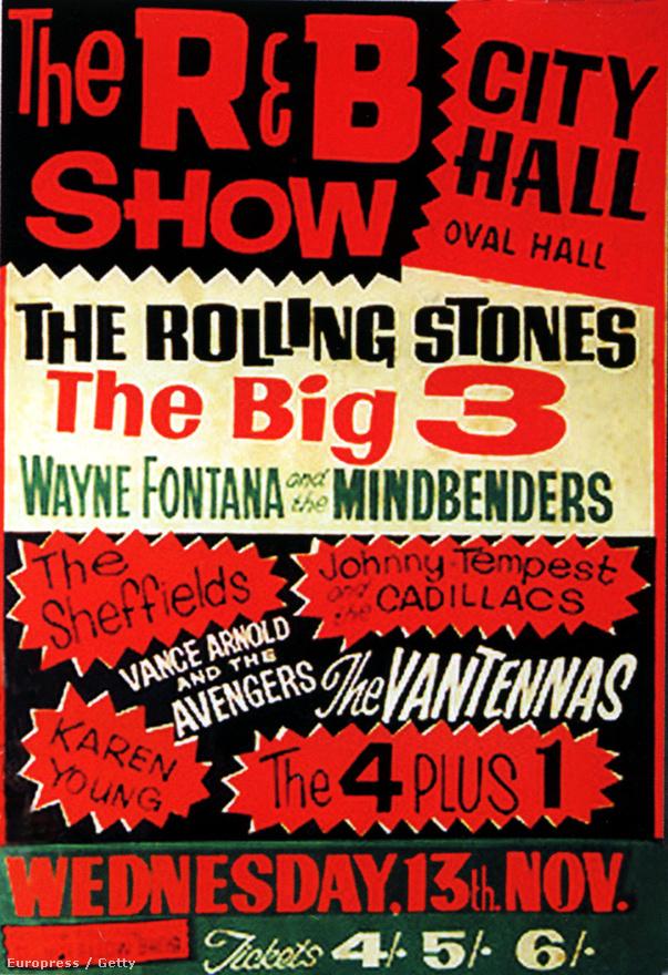 A Rolling Stones 1962. július 12-én adta fennállásának első koncertjét a londoni Marquee Clubban The Rollin' Stones néven. Kizárólag feldolgozásokat játszottak olyan zenészektől, mint Chuck Berry vagy Bo Diddley, illetve a Chicago blues nagyjai.