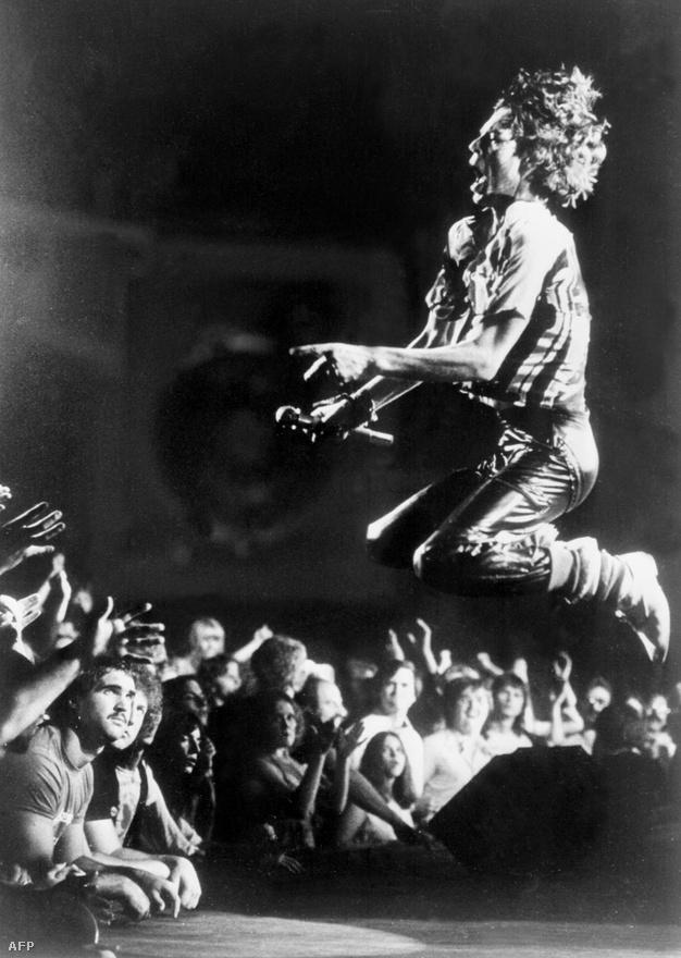 Mick Jagger egy 1978-as koncerten Atlantában.