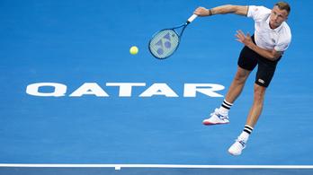 Fucsovics nagyon simán kikapott a dohai tenisztornán