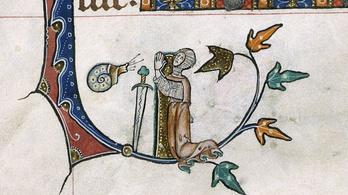 A csigával harcoló lovagnál nincs jobb középkori mém