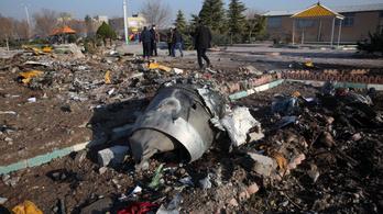 Rakétával lőhették le Teherán felett az ukrán utasszállítót