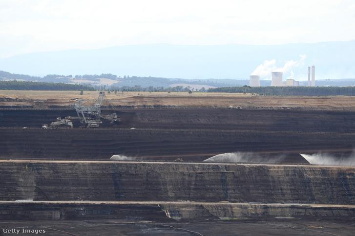 Egy szénbánya Melbourne-ben