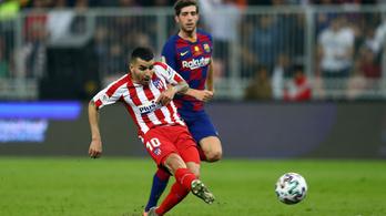Az Atlético 17 másodperc alatt gólt lőtt a Barcának, kiejtette a Szuperkupából
