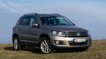 Használtteszt: Volkswagen Tiguan 2.0 TDI SCR 4Motion BlueMotion Technology, Sport & Style - 2015.