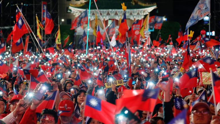 Kína szorításában dönt Tajvan a jövőjéről