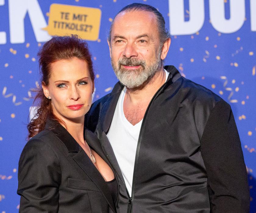 Dobó Kata és Zsidró Tamás 2018 decemberében, a BÚÉK című vígjáték premierjén.