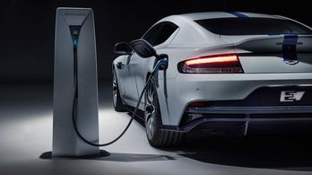 Mégsem mehet gyártásba az elektromos Aston Martin?
