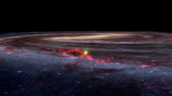 Felfedezték a Tejút csillagkeltetőjét