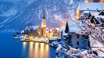 A Jégvarázs miatt több tízezernyi turista lepett el egy apró osztrák falut
