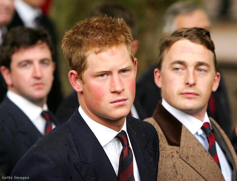 Harry herceg egy nem különösebben szerencsés pillanatban.