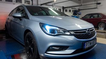 Totalcar Erőmérő: Opel Astra 1.6 turbo