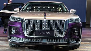 Ilyen lett az új kínai állami luxusautó