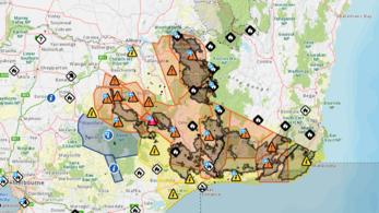 Összeállt Ausztráliában az 500 ezer hektáros gigatűzfészek, 220 ezer embert evakuálnak