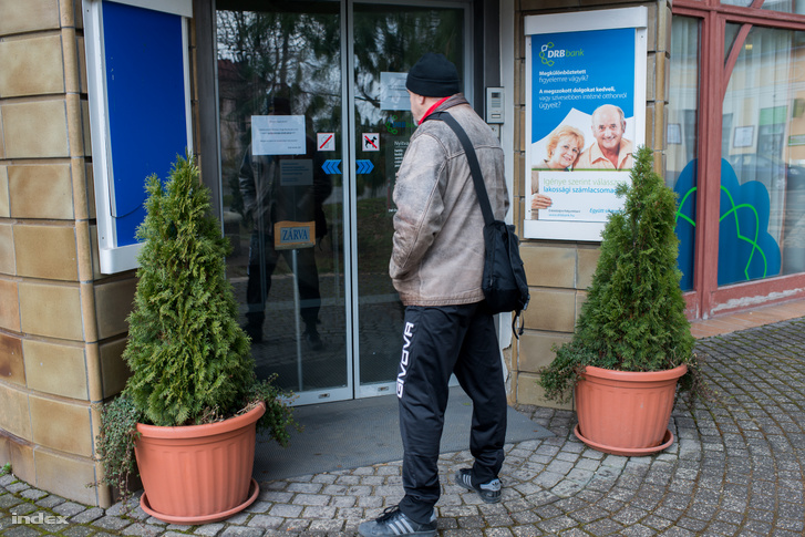 A DRB siklósi bankfiókja