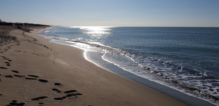 A tirrén tengerpart