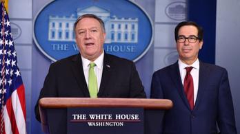 Trump új szankciókkal sújtotta Iránt