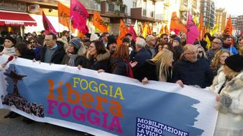 A maffia ellen tüntettek tízezrek Olaszországban