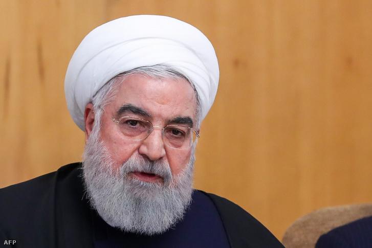 Haszan Róháni iráni elnök
