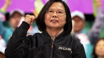 Elsöprő győzelmet aratott, rögtön beszólt Kínának a tajvani elnök