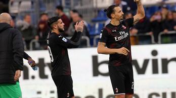 Máris meglőtte az első gólját Ibrahimovic a Milanban