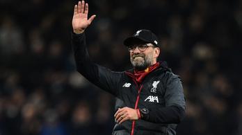 Szenzációs Liverpool-rekord, 21 meccsből egy döntetlen