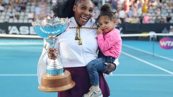 Serena Williams először nyert tenisztornát, mióta anya lett