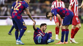 Suárez jobb térdét műteni kell