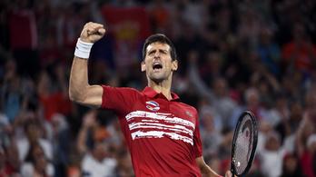 Djokovic legyőzte Nadalt, aztán párosban megnyerte az ATP-kupát