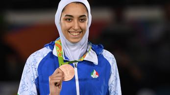Disszidál Iránból az ország egyetlen olimpiai érmes sportolónője