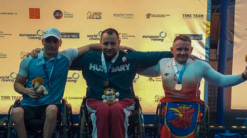 Három magyar aranyérem az ergométeres evezős Európa-bajnokságon