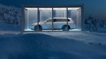 A VW elrejtett egy Passatot a svéd hegyekben. Azé, aki megtalálja