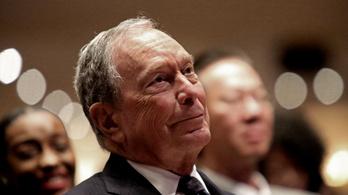 Bloomberg akár egymilliárd dollárt is hajlandó költeni, csak ne Trump legyen a következő elnök