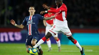 Gólzáporos döntetlent játszott a PSG és a Monaco
