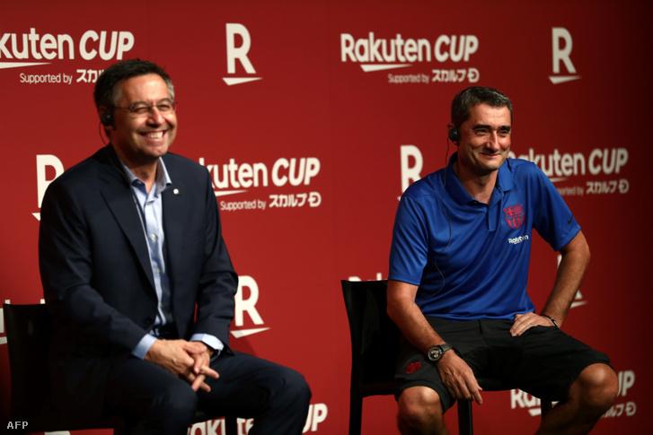 Bartomeu és Valverde ma már nem mosolyog ennyire