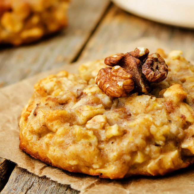 Fahéjas, almás-zabpelyhes keksz: így lesz ragacsos és szaftos
