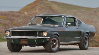 Egymilliárdot ért Steve McQueen filmes Mustangja