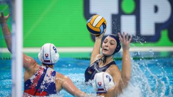 A bunkervízilabdát játszó szlovákokat is legyőzte a női póló-válogatott