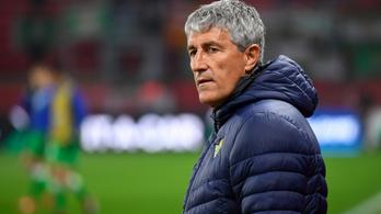 Quique Setién a Barcelona új edzője