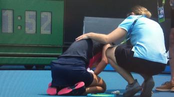 Az erdőtüzek miatt adta fel az ausztrál tenisztornát egy játékos