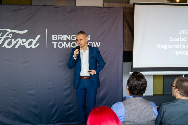 Szabó Attila, az új regionális ügyvezető