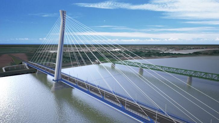 Látványos mérnöki munka lesz az új közös Duna-híd