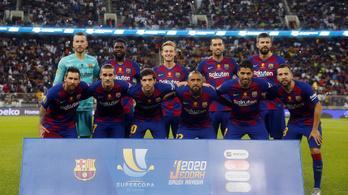 A Barcelona átlépte a 800 milliós álomhatárt, a világ leggazdagabb futballklubja lett