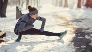 Rengeteg előnye van a hidegben edzésnek, elmondjuk, mik azok!