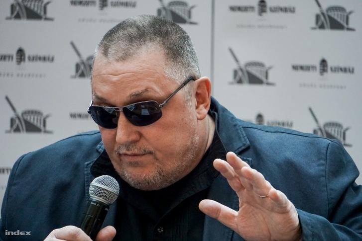 Vidnyánszky Attila, a Nemzeti Színház vezérigazgatója