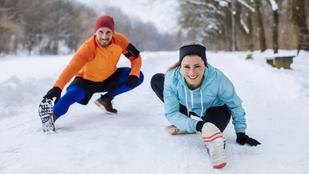 Így eddz télen a szabadban