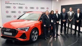Gigaszerződést kötött a Bayern és az Audi