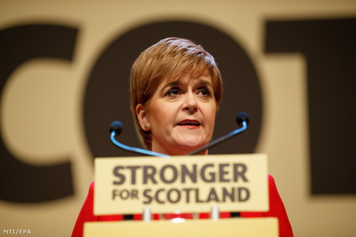 Nicola Sturgeon skót miniszterelnök