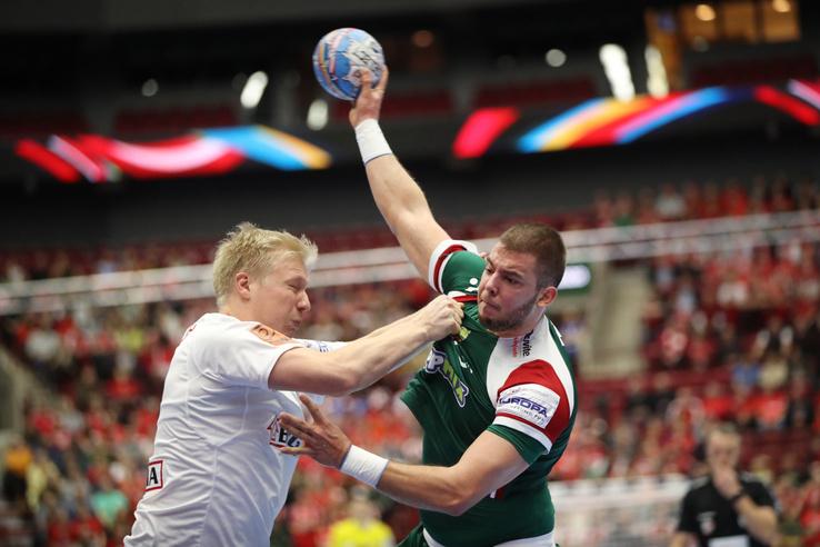 Nagy Bence (j) és a dán Magnus Saugstrup Jensen